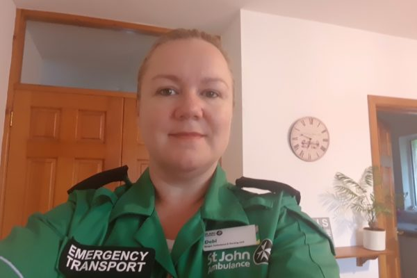 St John Ambulance Volunteer