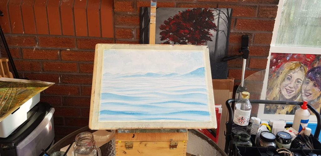 Blue Waters Art